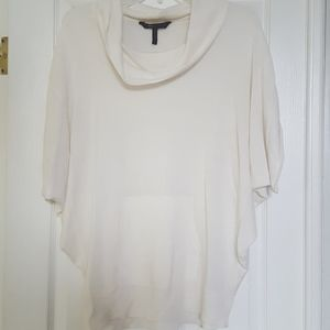 BCBG Dolman Sleeve Pocket Front Sweater